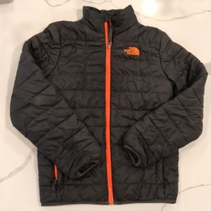 North Face Boys Quilted Jacket Sz 10/12 (M)